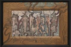 Jan Toorop - 1893 - Zang der Tijden
