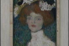 Pablo Picasso - 1901 ca - Vrouwenportret [de Madrileense] 1
