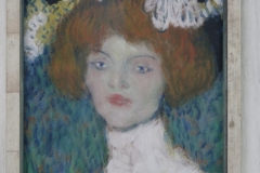 Pablo Picasso - 1901 ca - Vrouwenportret [de Madrileense] 2