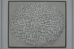 Piet Mondriaan - 1915 - Compositie 10 in zwart wit