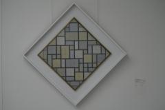 Piet Mondriaan - 1919 - Compositie met raster 5, ruit, compositie met kleuren