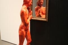 2018-04-11-Rotterdam-Kunsthal-046-George-Segal-1996-Staande-vrouw-kijkend-in-de-spiegel