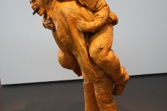 2018-04-11-Rotterdam-Kunsthal-109-Juan-Muñoz-2001-Paardjerijden-met-mes