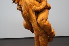 2018-04-11-Rotterdam-Kunsthal-110-Juan-Muñoz-2001-Paardjerijden-met-mes