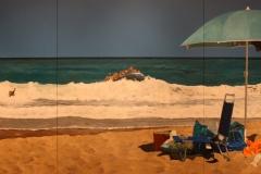 2018-04-11-Rotterdam-Kunsthal-157-Michael-Kvium-2017-Beach-of-plenty