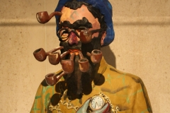 Gavin Turk - De Kreupele [Magritte met pijpen] 1