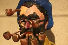 Gavin Turk - De Kreupele [Magritte met pijpen] 2