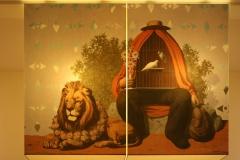 Leeuw bij Kooiman