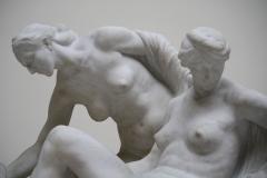 32 Victor Rousseau - 1901-1907 - De Gezusters van de Illusie [detail]