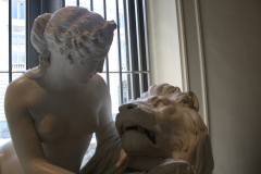 73 Guillaume Geefs - 1851 ca - De Verliefde Leeuw [detail]
