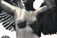 84 Standbeeld met Engel [detail]