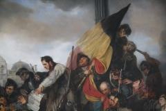 14 Gustaf Wappers - 1835 - Tafereel van de Septemberdagen 1830 op de Grote Markt [detail]
