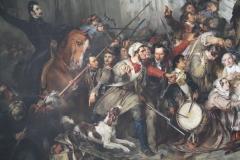 16 Gustaf Wappers - 1835 - Tafereel van de Septemberdagen 1830 op de Grote Markt [detail]
