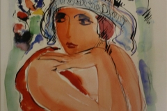 Museum-en-beeldentuin-Nic-Jonk-089-Nic-Jonk-1986-Vrouw-met-Blauwe-Hoed
