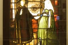 Naar-Jan-van-Eyck-1900-1915-Raam-met-Giovanni-Arnolfini-en-zijn-vrouw