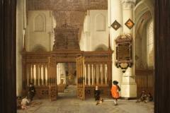 Hendrick-van-Vliet-1661-Gezicht-in-de-Nieuwe-Kerk-met-memorietafel-1