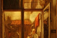 Hendrick-van-der-Burgh-1650-ca-Moeder-en-kind-aan-het-venster-2