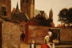 Pieter-de-Hooch-1658-ca-Vrouw-en-kind-bij-het-bleken-van-laken-2