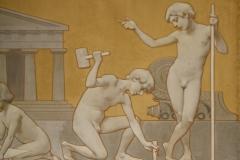 Rijksmuseum-Amsterdam-102-Wandschildering-Bouwkunst-detail