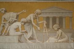 Rijksmuseum-Amsterdam-103-Wandschildering-Bouwkunst-detail