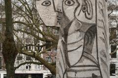 Rotterdam-298-Beeld-Sylvette-door-Pablo-Picasso-en-Carl-Nesjar-Westersingel