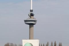 Rotterdam-220-Euromast-en-tunnelgebouw-Zuid-Maastunnel
