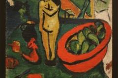 Erich-Heckel-1910-Stilleven-met-houten-beeldje