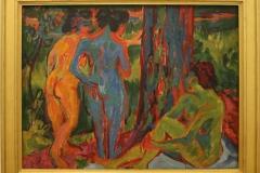 Ernst-Ludwig-Kirchner-1908-1920-Drie-naakten-in-het-bos