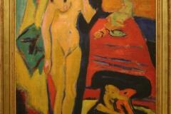 Ernst-Ludwig-Kirchner-19110-1926-Naakt-meisje-achter-gordijn-1