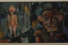 Herman-Kruyder-1930-1931-Pan-de-Fluitspeler-middenstuk-triptiek-Lente