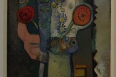 Herman-Kruyder-1930-1931-Stilleven-met-roze-vogel-linkerdeel-triptiek-Lente