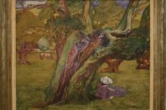 Jan-Toorop-1890-ca-Oude-eiken-in-Surrey