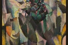 Leo-Gestel-1913-Kubistische-vrouwenfiguur-Staande-vrouw-1