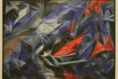 Matalia-Sergeevna-Goncharova-1912-1913-Rayonistische-Zee