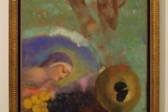 Odilon-Redon-1914-Hommage-aan-Leonardo-da-Vinci