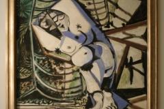 Pablo-Picasso-1956-Vrouwelijk-Naakt-voor-Tuin