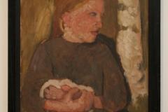 Paula-Modersohn-Becker-1904-Meisje-met-Konijntje-in-de-Armen