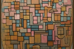 Piet-Mondriaan-1914-Tableau-III-compositie-in-ovaal