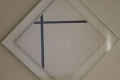 Piet-Mondriaan-1931-Ruitvormige-compositie-met-twee-lijnen