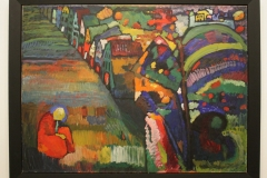 Wassily-Kandinsky-1909-Schilderij-met-Huizen-1