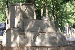 2018-07-24-Den-Haag-Zandsculpturen-020-Baldrick-Buckle-De-weg-vanaf-Scheveningen-wereldkampioen