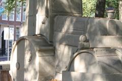 2018-07-24-Den-Haag-Zandsculpturen-025-Baldrick-Buckle-De-weg-vanaf-Scheveningen-wereldkampioen